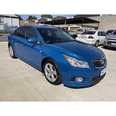 1/2013 Holden Cruze SRi JH MY13 4d Sedan Blue 1.4L