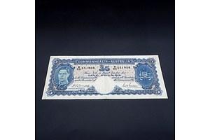 £5 1941 Armitage McFarlane Australian Five Pound Banknote R46 R35551908