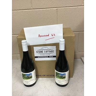 L63 - 12 x 2018 Chambourcin, Stone Cottage Vineyard Woodstock NSW