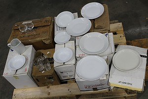 Selection of Commercial Crockery and Glassware