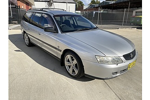 11/2002 Holden Commodore Executive VY 4d Wagon Silver 3.8L