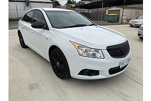 5/2011 Holden Cruze CD JH 4d Sedan White 1.8L
