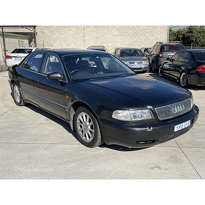 5/1995 Audi A8 4.2 Quattro  4d Sedan Black 4.2L