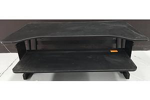 Black Varidesk Desk Converter