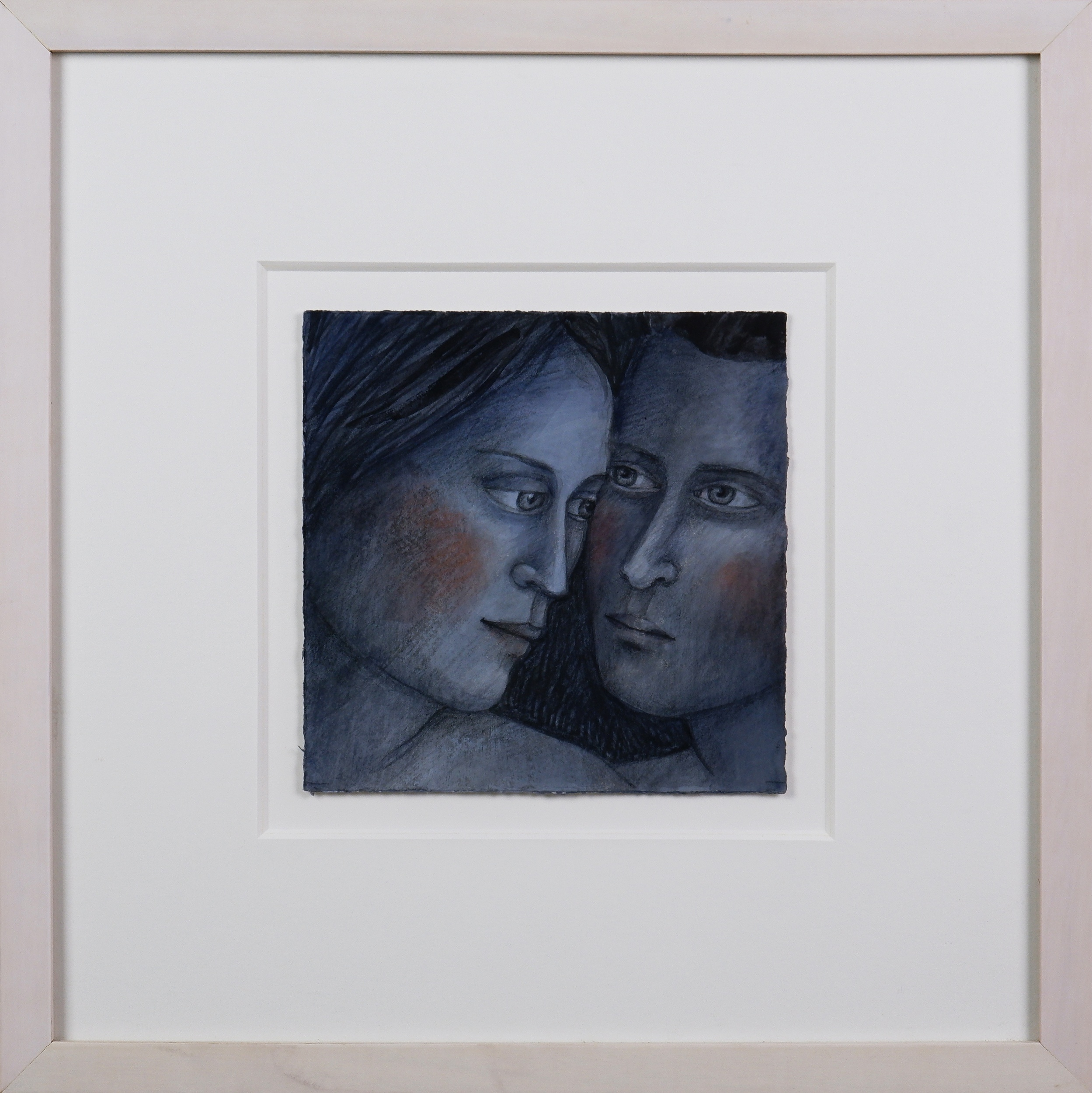 'Madeline Winch (born 1950), Study III, Watercolour and Pastel on Paper, 16.5 x 16.5 cm'