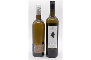 Peter Lehman 2009 Barossa Semillon and Puddleduck Tasmania 2017 Fume Blanc - Two Bottles (2)