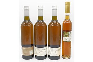Tyrrells Aged Liqueur Semillon 375 ml and Three 750ml Puddleduck Verjuice (4)