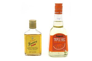 Seagrams Triple Sec Liqueur 500ml and Bundaberg Rum 150 ml