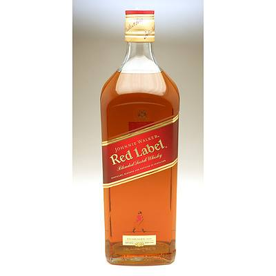 Johnnie Walker Red Label Blended Scotch Whiskey  - 3 Liters