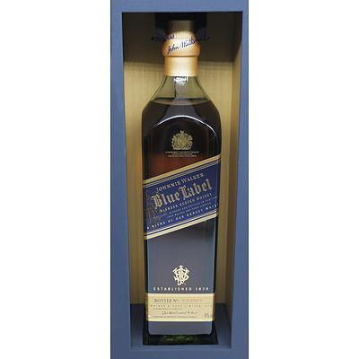 Johnnie Walker Blue Label Blended Scotch Whisky, Bottle No IC0 49473 - 700ml in Presentation Box