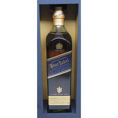 Johnnie Walker Blue Label Blended Scotch Whisky, Bottle No IC0 49480 - 700ml in Presentation Box