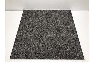 Grey Carpet Tiles -25 Square Metres