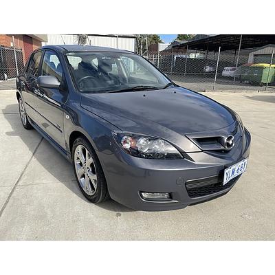 2/2008 Mazda Mazda3 SP23 BK MY08 5d Hatchback Grey 2.3L