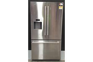 762litre Bosch KFN91PJ10A/01 FD9204 Stainless Steel 2 Door 1 Drawer Fridge/Freezer