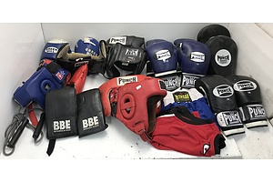 Lot Of Assorted Boxing Accessories