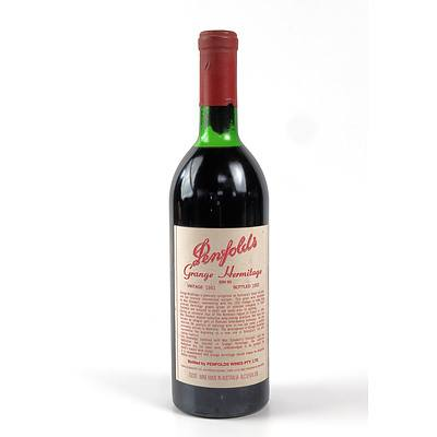 Penfolds Grange Bin 95 Vintage 1981, Bottled 1983