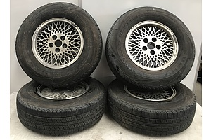 5 Stud 15 Inch Rims and Tyres