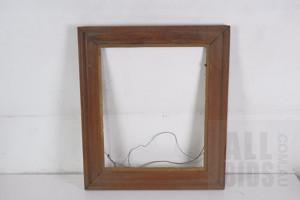 Vintage Pressed Oak Frame