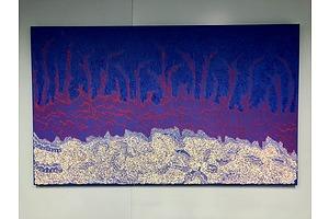 Artwork - Untitled by  Jorna Newberry Nampitjinpa NT