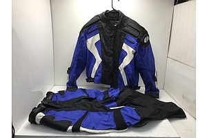 or Rocket Protective Motorcycle Pants and Jacket