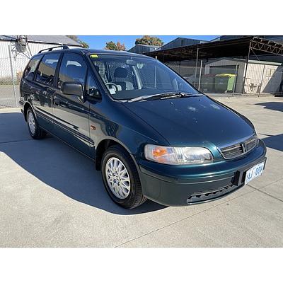 1/1998 Honda Odyssey (6 Seat)   4d Wagon Green 2.3L