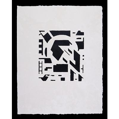 Erich Buchholz (1891-1972, German), No. 6 1918/21, Woodcut, 23 x 21 cm (image size)