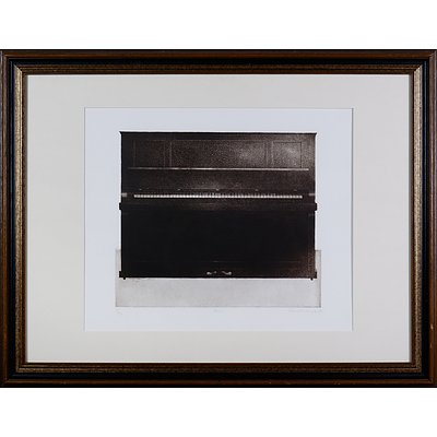Terence Millington (born 1943, British), Piano 1971, Etching & Aquatint Edition 16/50, 37.5 x 28 cm (image size)