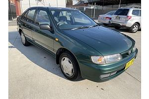 8/1997 Nissan Pulsar LX  4d Sedan Green 1.6L