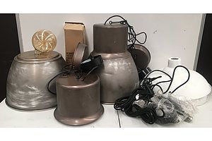 Assorted Lot Of Light Fittings