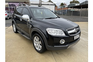 8/2010 Holden Captiva LX (4x4) CG MY10 4d Wagon Black 2.0L