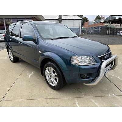 5/2010 Ford Territory TS (rwd) SY MKII 4d Wagon Mystic Green 4.0L