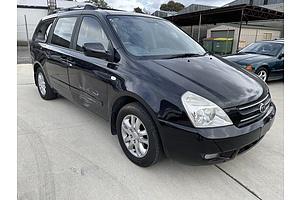 3/2007 Kia Grand Carnival (EX) VQ 4d Wagon Black 3.8L