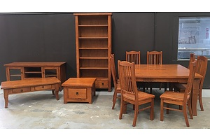 Suite Of Impressions Furniture, Stressed Dalton Range Furniture