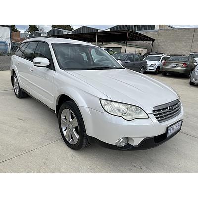 10/2006 Subaru Outback 2.5i MY07 4d Wagon White 2.5L
