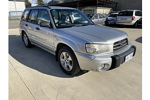 3/2003 Subaru Forester XS MY03 4d Wagon silver 2.5L