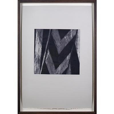 Meg Buchanan (born 1949), Nocturnal I 2002, Etching & Aquatint, Unique State, 24.5 x 24.5 cm (image size)