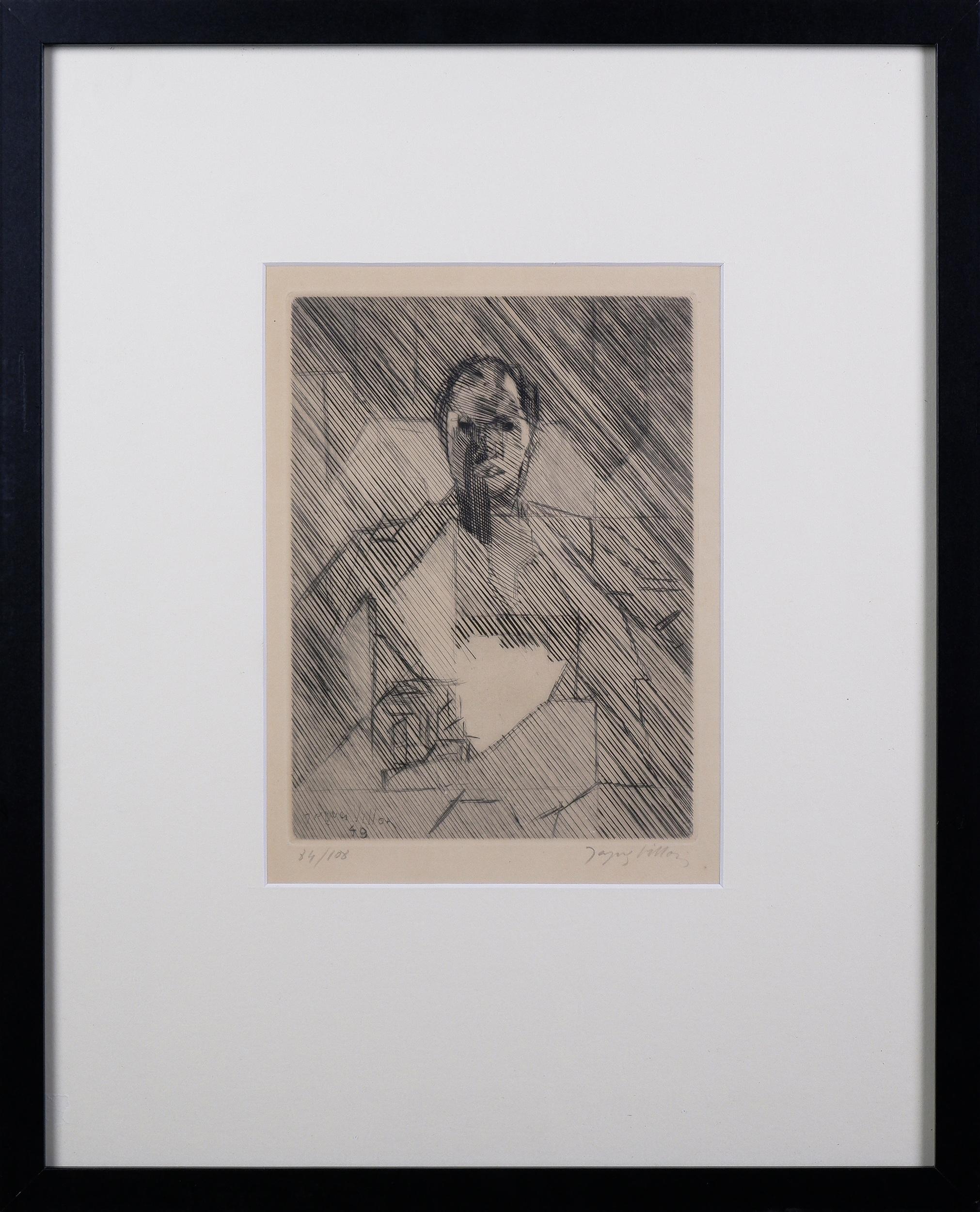 'Jacques Villon (1875-1963, French), La Mere 1949, Etching, 24 x 18 cm'