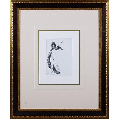 Norman Lindsay (1879-1969), Lysistrata, Facsimile Etching, 17.5 x 13 cm (image size)