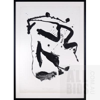 John Olsen (born 1928), Bird & Kangaroo 1979, Lithograph, 90 x 63 cm (sheet size)