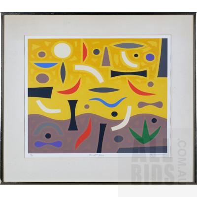 John Coburn (1931-1986), Bright Day, Screenprint, 48 x 58 cm (image size)