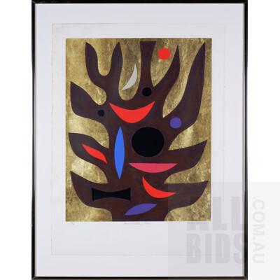 John Coburn (1931-1986), Resurrection Tree 1978, Screenprint, 60 x 48 cm (image size)