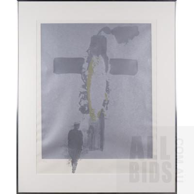 Sidney Nolan (1917-1992), Cross 1966-67, Screenprint, 62 x 46 cm (image size)