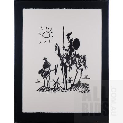 Pablo Picasso (1881-1973, Spanish), Don Quixote 1955, Lithograph, 66 x 50 cm (sheet size)