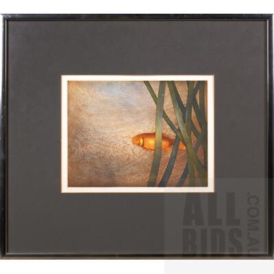 Terence Millington (born 1943, British), Fish 1978, Colour Etching, 20 x 26 cm (image size)