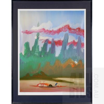Sidney Nolan (1917-1992), River Kwai Series, Photolithograph, 72 x 57 cm (image size)