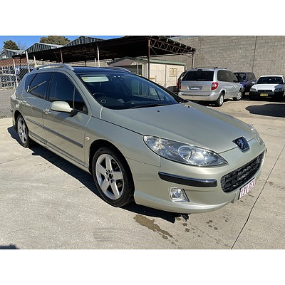 3/2006 Peugeot 407 ST HDi Touring Comfort MY06 UPGRADE 4d Wagon Beige 2.0L