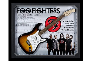 The Foo Fighters Signed Guitar