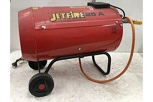 Jetfire 25A LPG Area Heater