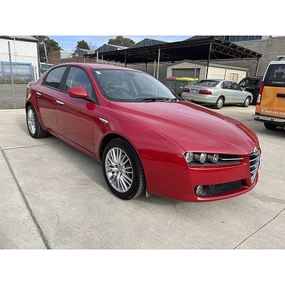 3/2010 Alfa Romeo 159 2.2 JTS MY09 4d Sedan Red 2.2L
