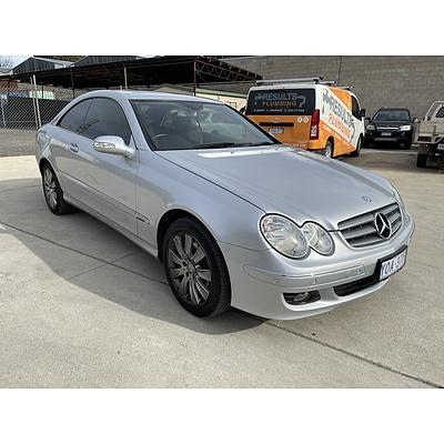 3/2008 Mercedes-Benz Clk280 Elegance C209 07 UPGRADE 2d Coupe Silver 3.0L